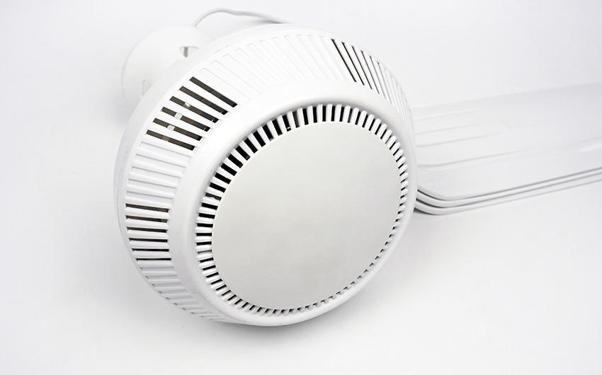 khe tản nhiệt dưới quạt trần mini loại đại 1.2m hd120 hillter