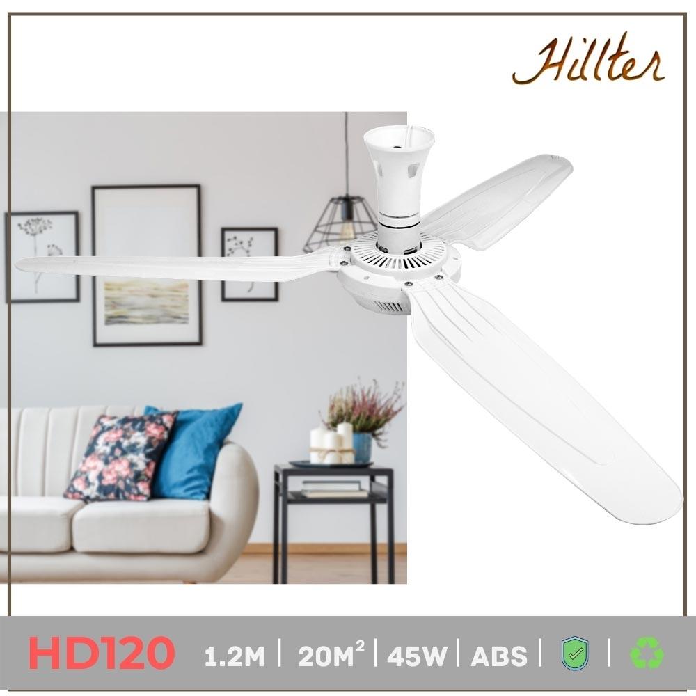 quạt trần mini loại đại 1.2m hd120 hillter